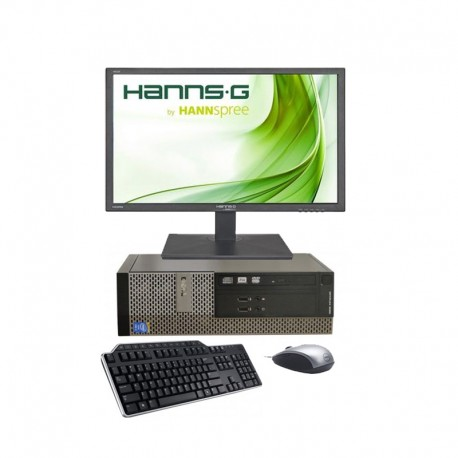 Sistem complet - Unitate + Monitor - Dell Optiplex 3020 - G3240 - 4GB RAM - 500 GB HDD + Monitor Hanns 22 inch