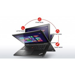 Laptop Lenovo ThinkPad YOGA 12 - Procesor i7-4500U - 8 GB RAM - 500GB HDD - 16 GB SSD - FULL HD - IPS - TOUCHSCREEN